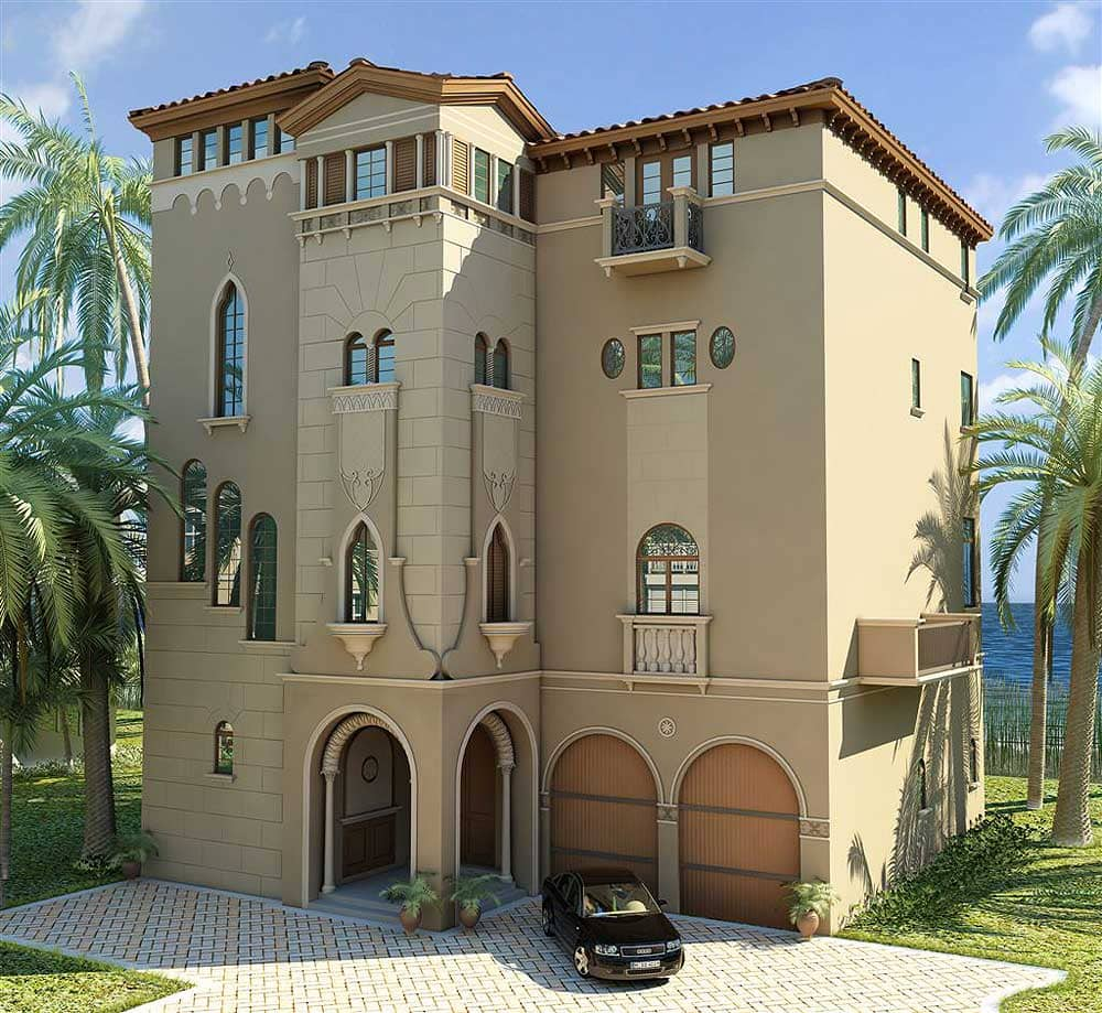 Barefoot Beach Bonita Springs Florida 3D Residential Spec Home