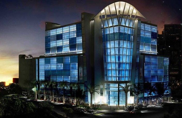 Seagate Properties (SGP) 3D Night Rendering