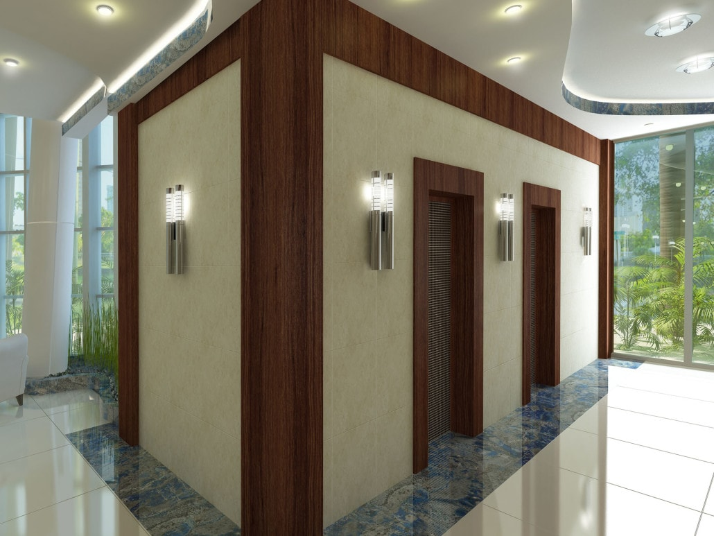 Elevator 3D Concept (Seagate Properties) in Fort Lauderdale, Florida