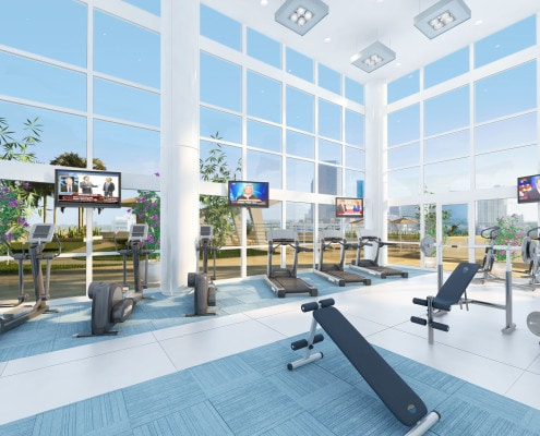 Fitness Area - Seagate Properties (SGP) in Fort Lauderdale, FL