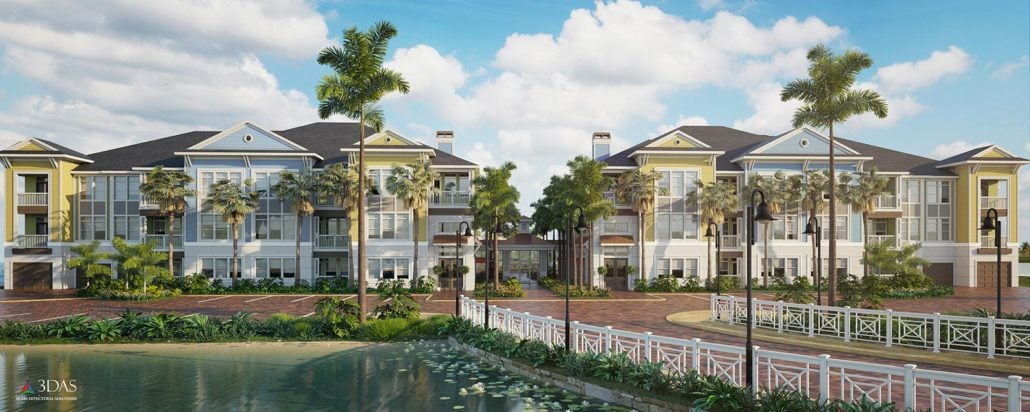 Residential Lake Condos (The Floridian) Venice / South Sarasota Florida