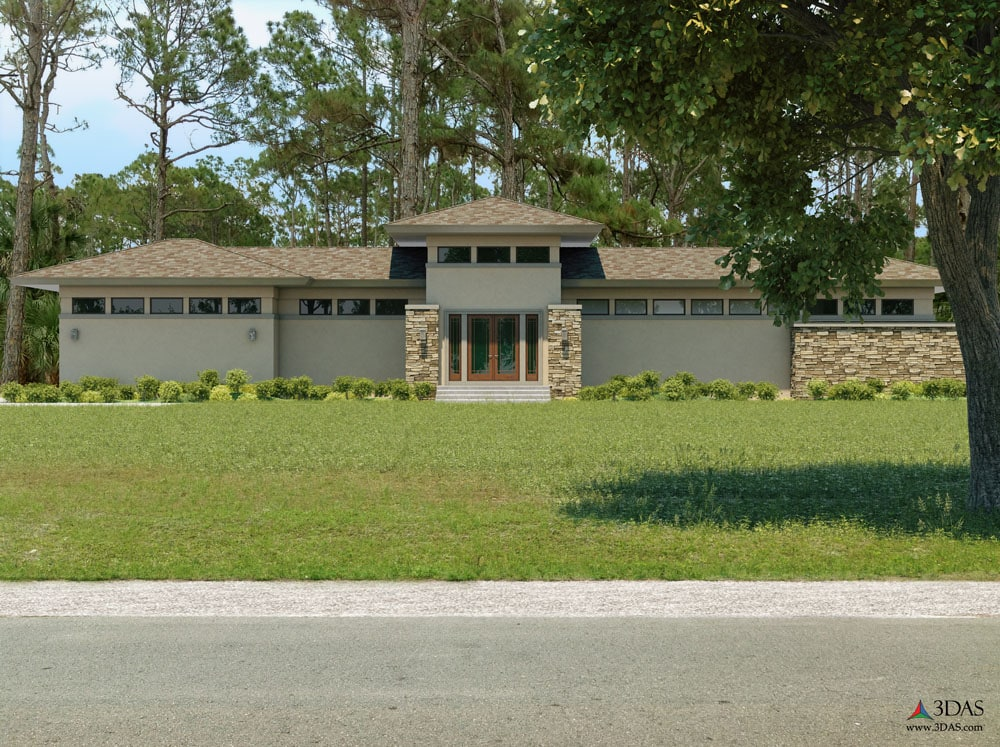 Weisl Residential Residence 3D Architect's Concept Home in Bonita Springs