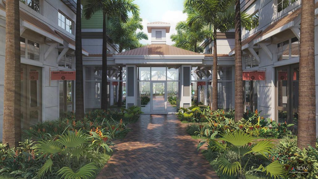 Residential Clubhouse Entry (The Floridian) Venice / South Sarasota Florida