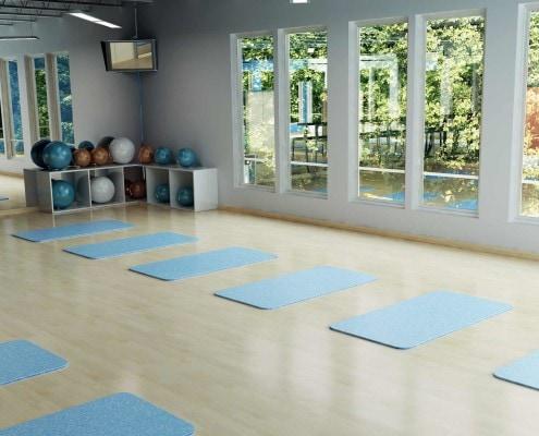 Sun N Fun Exercise Room in Sarasota, Florida
