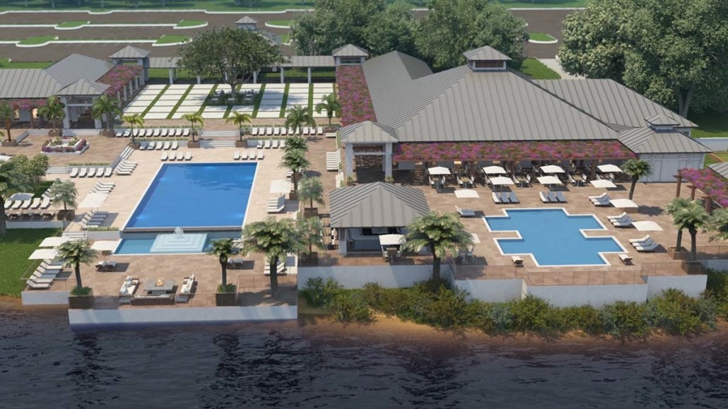 Kalea Bay Clubhouse and Pool Areas in Naples, Florida