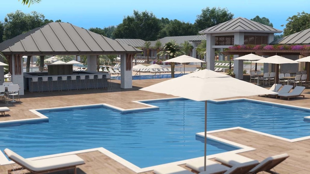Kalea Bay Pool and Tiki Bar in Naples, Florida