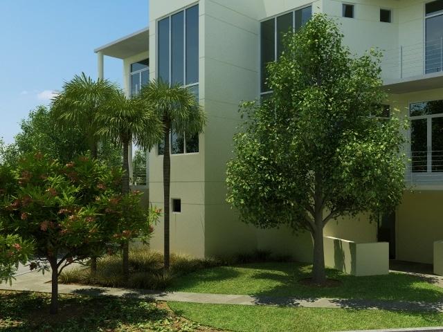MODA Residential Exterior View Sarasota, Florida