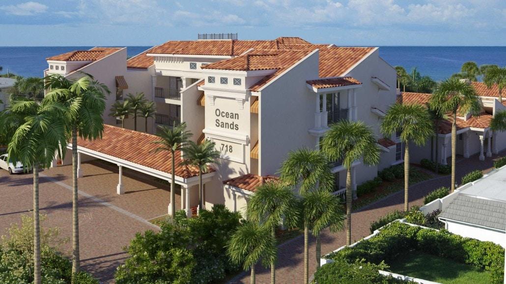 Ocean Sands Residential Condos in Venice, Florida - 3D Architectural Concept
