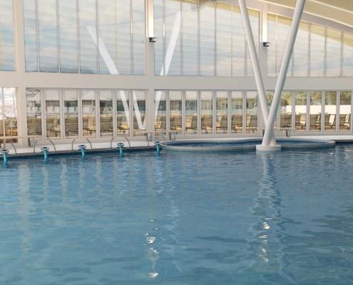 Sun N Fun Indoor Pool in Sarasota, Florida