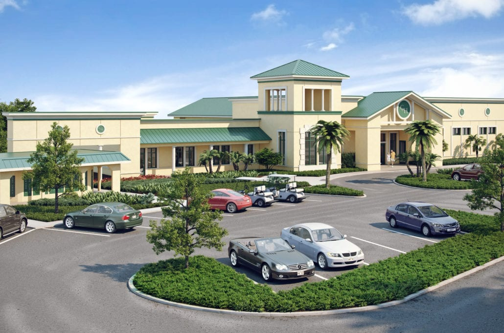 Port Charlotte - Gulf Stream Harbor Residential Clubhouse 3D Rendering