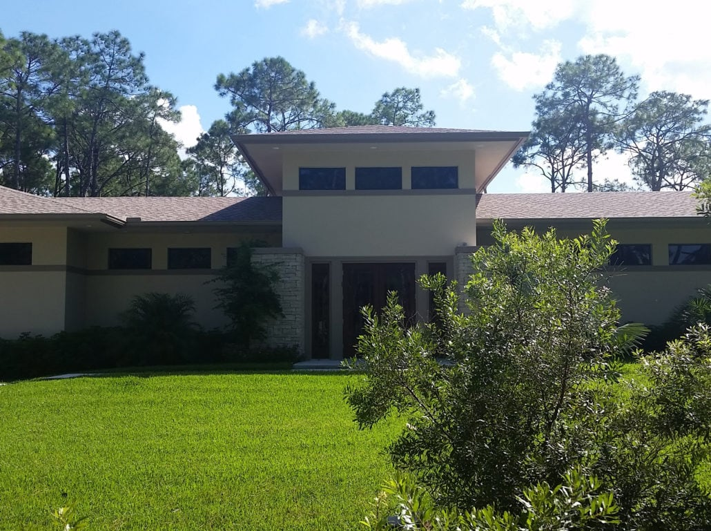 Weisl Residence in Bonita Springs - Finished