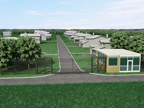 Nalle Road Estates Entrance Concept A