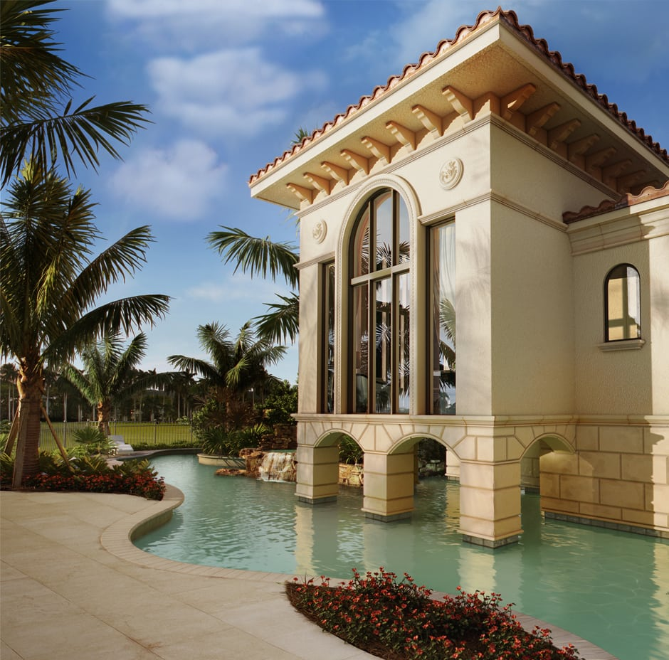 Naples, Florida 3D Rendering Residential - After