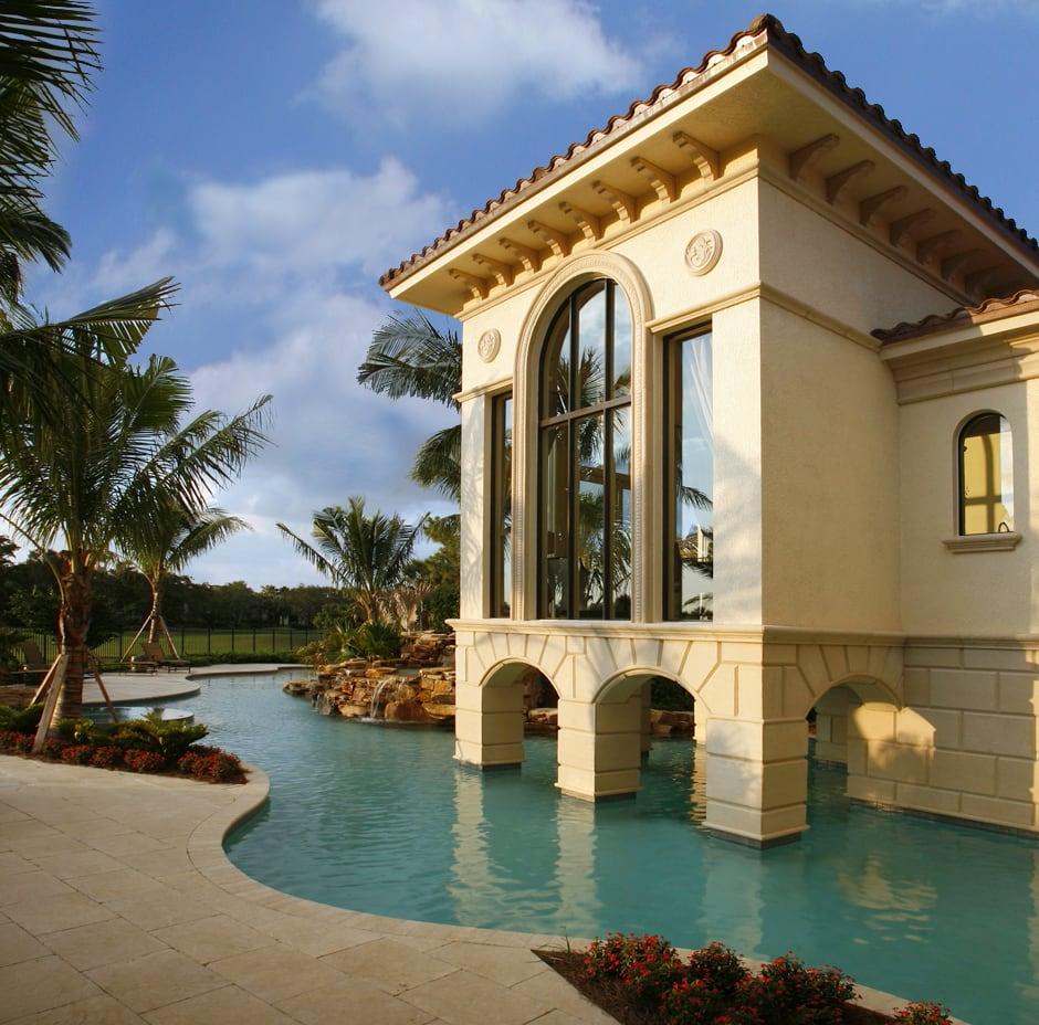 Naples, Florida 3D Rendering Residence - Before