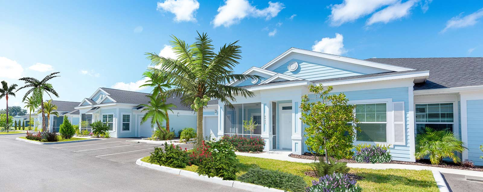 Floridian Villas - Photo of neighborhood located in Venice, Florida