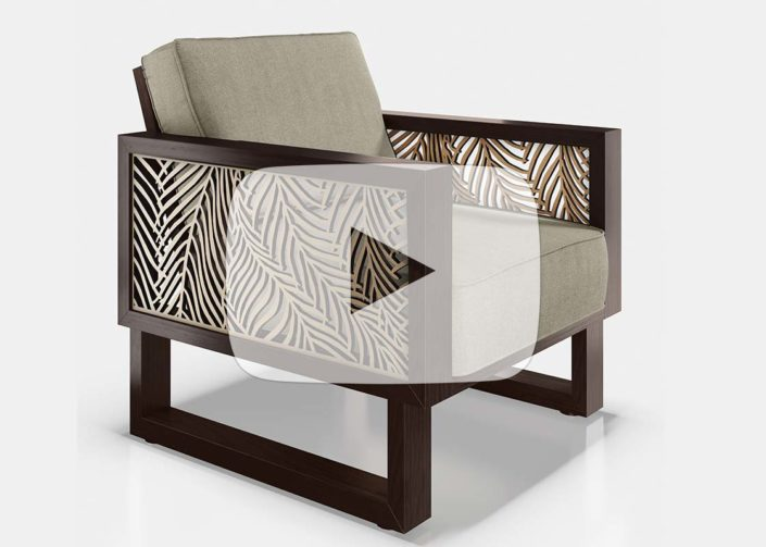 Select Custom 3D Furniture with Removable Panels