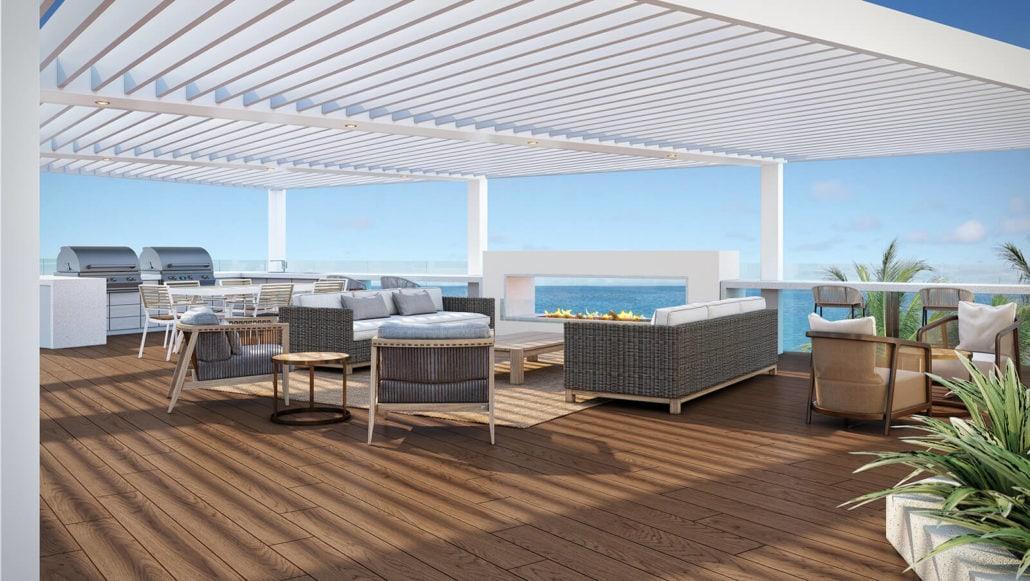 Regent Pool Lounge Renovation in Naples, Florida - 3D Rendeirng by 3DAS