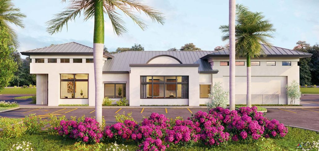 Hulett Environmental Services Commercial Exterior 3D Elevation / Exterior in Naples, Florida
