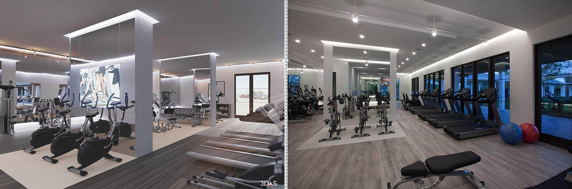 Fitness 3d renderings gallery and benefits over photography