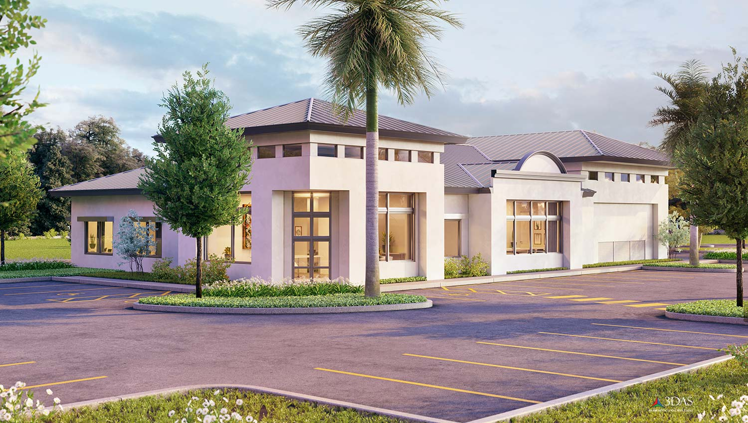 Hulett Environmental Services 3D 2-Sided Exterior in Naples, Florida