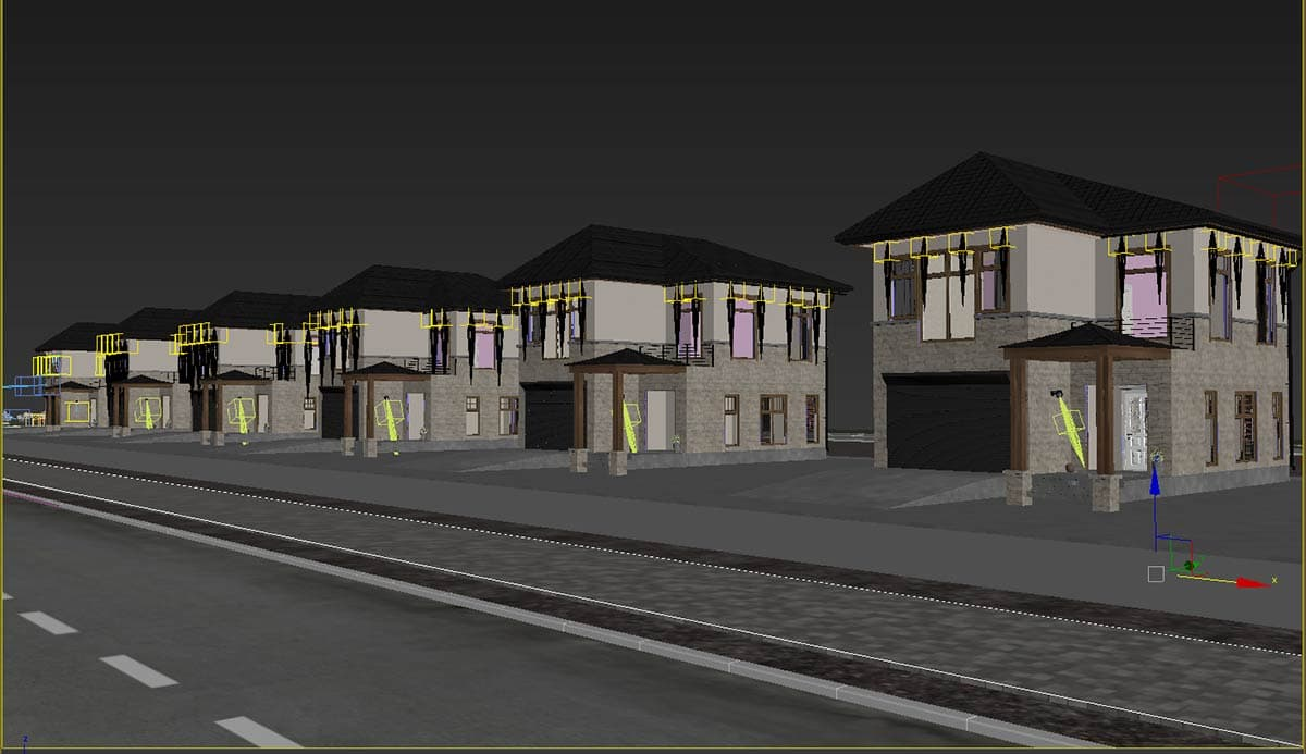 Initial 3ds Max screenshot of Onyx / Polly Avenue