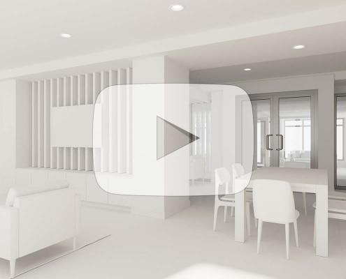 structural iterative design 3d architectural visualization interior