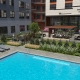 Courtyard with Pool 3D Rendering for Federal Hill located in Baltimore, Maryland.